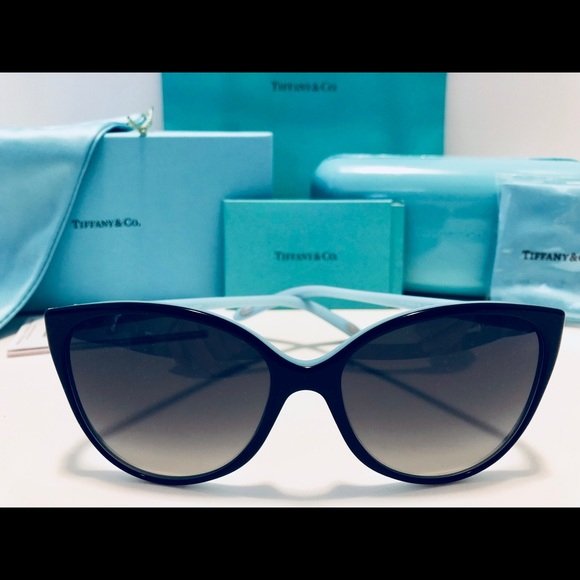 3f3cc5f4053 Tiffany   Co. Sunglasses Black Blue Polarized 58mm.  M 5b2c3dc0de6f62e299b070a0